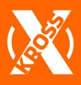xkross vit på orange